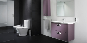 Amenajare baie Roca THE GAP purple