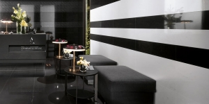 Amenajare interior Atlas Concorde ADMIRATION MIDNIGHT BLACK/BIANCO CARRARA