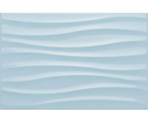 Decoruri faianta Decor CHROMA LIGHT BLUE STRUTTURA 3D 25x38 cm
