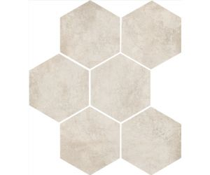 Gresie Gresie / Faianta CLAYS Cotton Hexagon 21x18,2 cm
