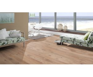 Parchet triplustratificat Bright Collection Oak Light Beige o lamela