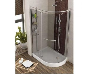 Cabine dus simple Set cabina de dus cu cadita Aquaform ETNA 1200 X 850 X 1850 MM