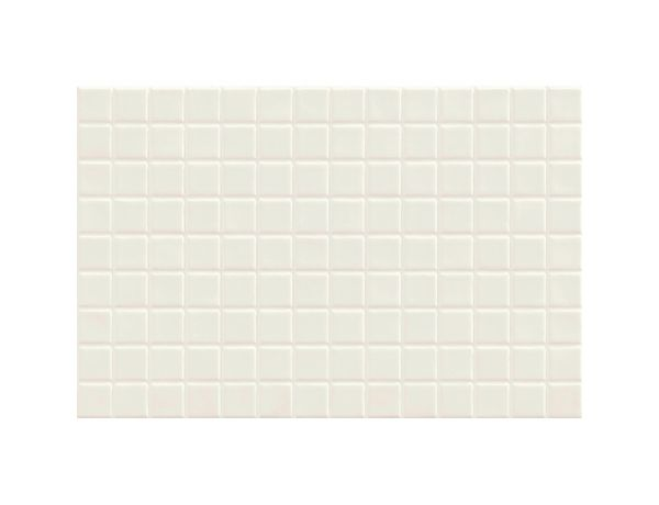 Mosaic NEUTRAL white/pearl  25x38 cm